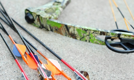 90-Minute Beginner Group Archery Lesson for One, Two, or Four at Turner's Outdoorsman (Up to 59% Off)