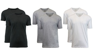 Galaxy by Harvic Men's Tagless V-Neck Undershirts (6-Pack) at Galaxy by Harvic Men's Tagless V-Neck Undershirts (6-Pack), plus 9.0% Cash Back from Ebates.