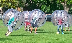 Fun Innovations : One Hour of Bubble Soccer for 1, 2, 4, 5, or 10 from Fun Innovations (35% Off)