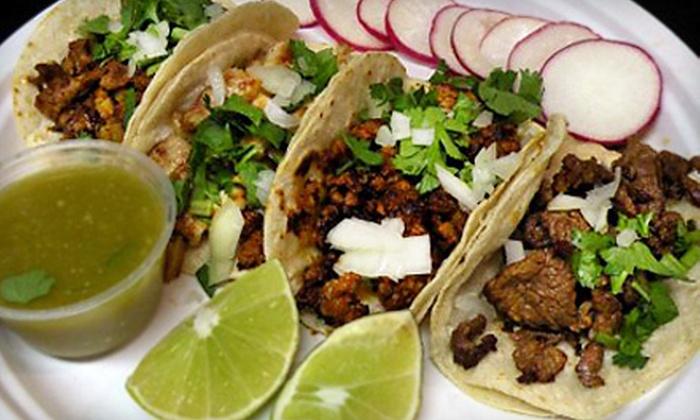 El Refugio Azteca - Tulsa: Authentic Mexican Food for Two or Four at El Refugio Azteca (Half Off)