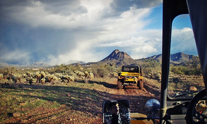 Desert Wolf Tours - New River: Half-Day Tomcar Tour of Sonoran Desert for Two or Four from Desert Wolf Tours (Up to 49% Off)