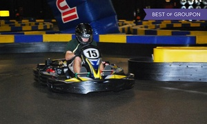 Miramar Speed Circuit: One or Two Go-Kart Races with Optional Laser Tag Games at Miramar Speed Circuit (Up to 45% Off). Three Options.