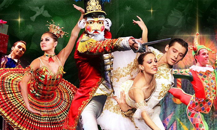 """Great Russian Nutcracker"" - Murat Theatre at Old National Centre: Moscow Ballet's ""Great Russian Nutcracker"" with Nutcracker, DVD, or Both on Saturday, November 28, at 3 p.m."