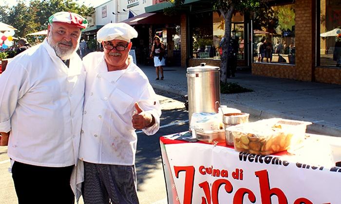 Vista Village Business Association - Vista: $12.50 for a Food & Drink Tasting for One at Taste of Vista on Main Street on June 25 (Up to $25 Value)