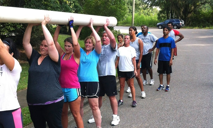 Boot Camp Fitness - Tallahassee: Five-Week Boot Camp Program for One or Two from Boot Camp Fitness (Up to 65% Off)