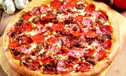 $12 for $20 Worth of Pizza, Italian Food, and Drinks at Marco's Pizza