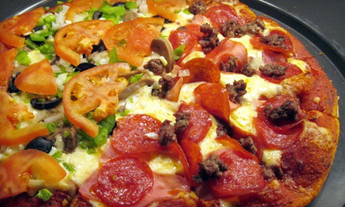Gold Coast Pizza - Pine Camp:  $10 for $20 Worth of Pizza, Salad, and Nonalcoholic Drinks at Gold Coast Pizza in Ashland