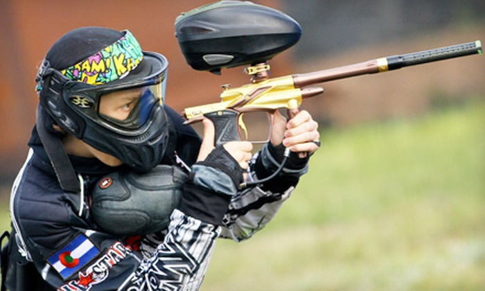 Allstar Paintball - Downtown Colorado Springs: All-Day Paintball Package for Two or Four with Equipment Rental and Paintballs at Allstar Paintball (Half Off)