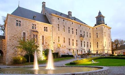 Ardennes belges : 1 à 3 nuits avec dîner et package VIP en option au Château de Harzé  pour 2 pers