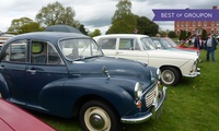 Classic Motor Show Tickets, Catton Hall on 30 April (Up to 50% Off)