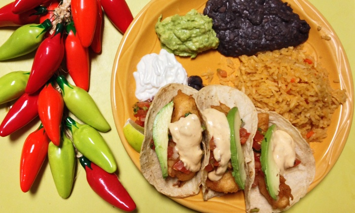 Three Amigos - Downtown - Downtown: C$14 for C$25 Worth of Mexican Food at Three Amigos