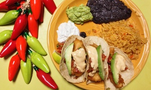 Three Amigos - Downtown: CC$14 for CC$25 Worth of Mexican Food at Three Amigos