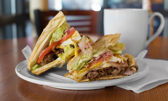 Cafecito - Multiple Locations: Cuban Food and Drinks at Cafecito (Up to 40% Off). Two Options Available.