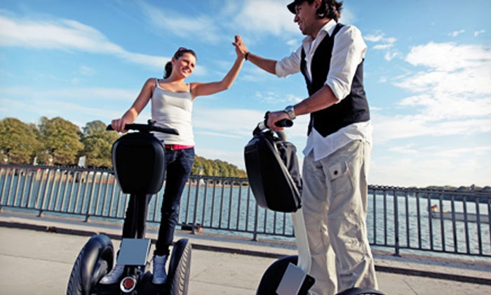 Segway Tours of Solvang - Downtown Solvang: Segway Tour of Solvang City or Figueroa Mountain from Segway Tours of Solvang (Up to 54% Off)