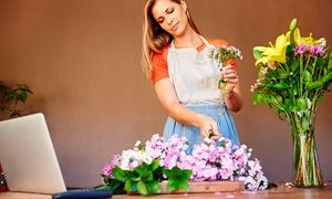 """Center of Excellence: Cours en ligne sur la compostion florale proposé par le """"Centre de l'Excellence"""""""