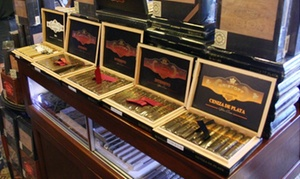 Cigars And Accessories Or 200 Small Filtered Cigars At Fidel's Cigar Shop (up To 50% Off)