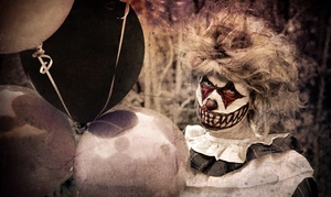 Scare Hawaii: Haunted House for Two, Four, or Six at Scare Hawaii presents Circus of the Dead (Up to 53% Off)