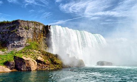 1-Night Stay with Dining and Activity Credits at the Four Points by Sheraton Niagara Falls Fallsview (Up to 78% Off)