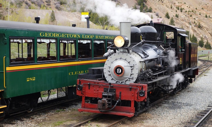 Georgetown Loop Railroad - Silver Plume Depot: Ride with Optional Mine Tour for an Adult and Child or Ride for 5 from Georgetown Loop Railroad (Up to 44% Off)