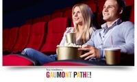 1 ou 2 places Gaumont Pathé valables 1 mois ou 3 mois à partir de 5,90€