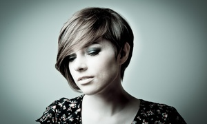 Nolan B Studio: A Haircut and Straightening Treatment from Nolan B Studio @ Sola Salon (55% Off)