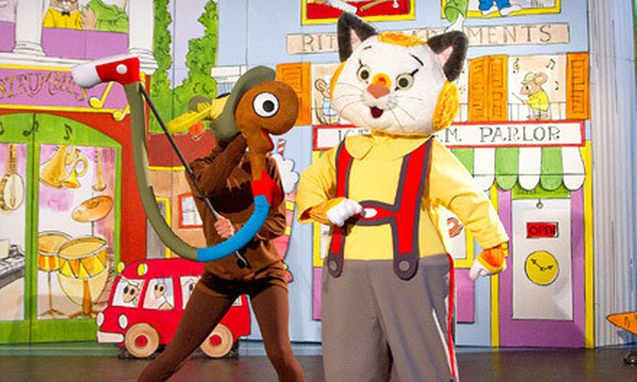 """Richard Scarry's Busytown: Busytown Busy"" - Multiple Locations: One Ticket to ""Richard Scarry's Busytown: Busytown Busy"" at Burton Cummings Theatre on March 31 (Up to $33.50 Value)"