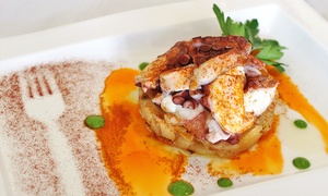 Taberna Restaurant: $49 for Tapas for Two with Sangria or Wine at Taberna Restaurant (Up to $84 Value). Two Options Available.