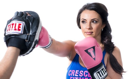 Five Boxing or Kickboxing Classes at Crescent Fitness James Island (53% Off)