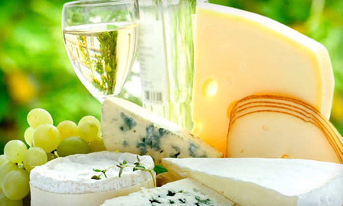 Rusty Grape Vineyard - Venersborg: Wine-Tasting Package for 2 or 4 with Bread-and-Cheese Plate and Souvenir Glasses at Rusty Grape Vineyard (Up to 68% Off)