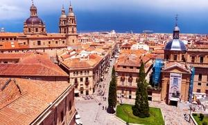 Royal Touring - Salamanca Day: Viaje a Salamanca con paseo guiado, tren turístico y tiempo libre para 2, 4 o 6 desde 69,95 € conRoyal Touring