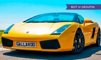 Sportscar (from £30) or Supercar (from £39) Driving For One Person with Experience Limits