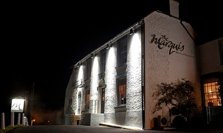 Kent: 1 or 2 Nights for Two with Breakfast, 4-Course Taster Menu and Prosecco at 5* The Marquis at Alkham