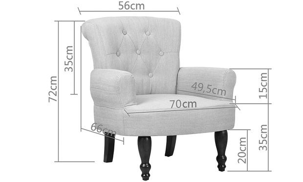 patchwork design sessel groupon goods. Black Bedroom Furniture Sets. Home Design Ideas