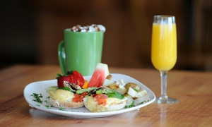 Olde Main Brewing Company: Brunch for Two with Bottomless Mimosas, Bloody Marys, and Bellinis at Olde Main Brewing Company