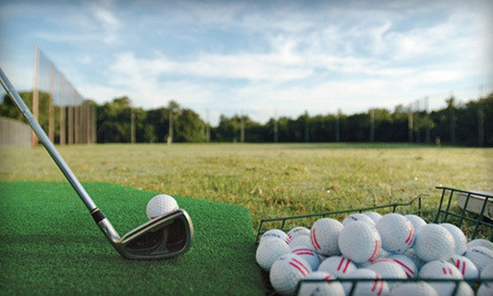 401 Par Golf Inc. - Raleigh: Large Buckets of Range Balls or Nine-Hole Round of Golf at 401 Par Golf Inc. (Up to 60% Off). Four Options Available.