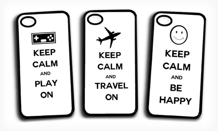 "iPhone 4/4S and 5 ""Keep Calm"" Cases: $9.99 for ""Keep Calm"" iPhone Case from Picture it on Canvas (Up to $49.95 List Price). 32 Cases Available. Free Returns."