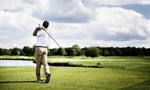 San Valentino Golf Club: 5 o 7 lezioni di golf con istruttore qualificato (sconto fino a 86%)