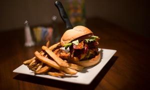 Hotties Bistro Bar & Thrill: Pub Cuisine at Hotties Bistro Bar & Thrill (Up to 50% Off). Four Options Available.