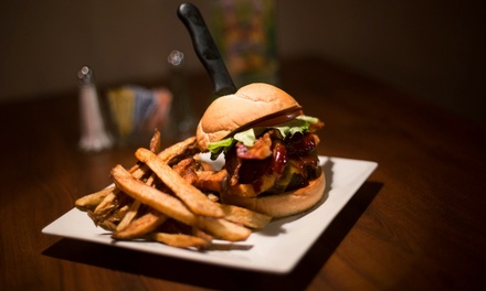 Pub Cuisine at Hotties Bistro Bar & Thrill (Up to 50% Off). Four Options Available.