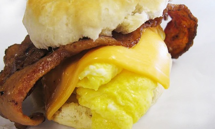 Chiliburgers or Hearty Breakfast at Chubz Famous Chiliburgers (Up to 47% Off)