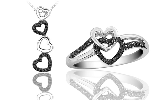 Heart-Shaped Promise Ring or Necklace: Heart-Shaped Promise Ring or Necklace