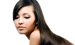 Glow Beauty Lounge: Brazilian Straightening Treatment from Glow Beauty Lounge (55% Off)
