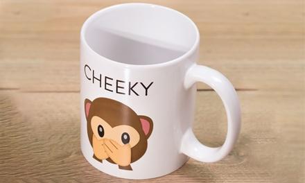 Thumbs Up Cheeky Emoji Mug