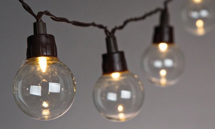 Solar And Electric Patio Lights Groupon Goods