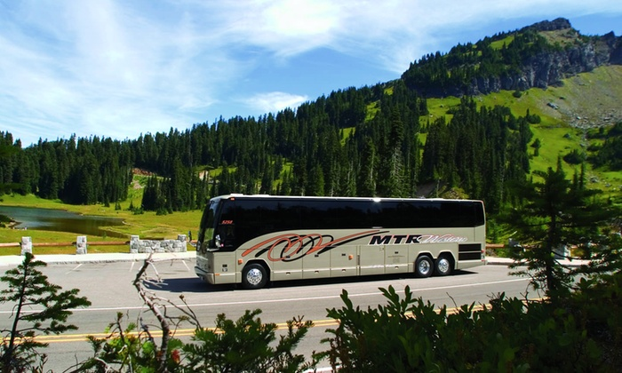 MTRWestern - Tacoma: Lift Ticket and Round-Trip Ski Bus Transportation to Crystal Mountain Resort  from MTRWestern (33% Off).