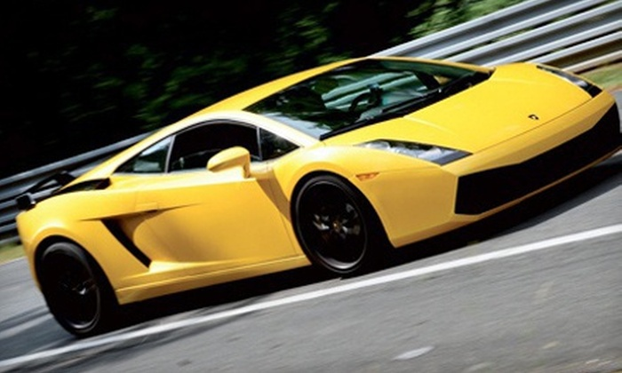 Canadian Racing Experience - Haldimand: One- or Two-Lap Exotic-Car-Driving Experience from Canadian Racing Experience (Up to 62% Off). Two Weekends Available.