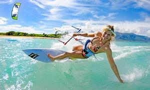 Kite Republic: Kite Boarding Lesson - Two ($59) or Five-Hour Lesson ($169) at Kite Republic, St Kilda (Up to $419 Value)