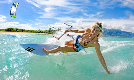Kiteboarding Lesson: Two ($59) or Five Hours ($169) at Kite Republic, St Kilda (Up to $425 Value)