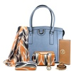Jenna Women's Tote Bag and Accessory Set (6-Piece)