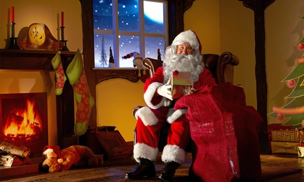 Magical Santa's Grotto at Loch Lomond Shores